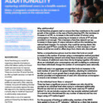Additionality: Capturing additional users in health markets