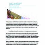 Publication of book: Quality Measurement in Family Planning: Past, Present, Future