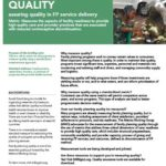 Quality: Assuring quality in family planning service delivery
