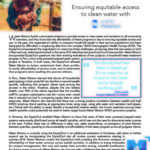 EquityTool Case Study: Ensuring equitable access to clean water with Water Mission