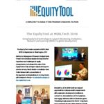 EquityTool Newsletter – October 2018