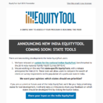 EquityTool Newsletter - April 2019