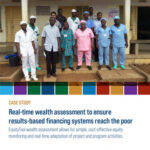 Real-time wealth assessment to ensure results‑based financing systems reach the poor